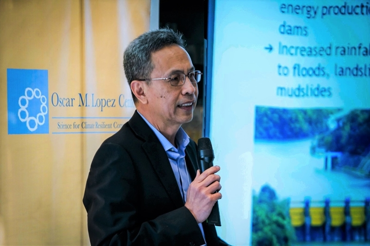 Dr. Rodel Lasco at the Climate Dialogues in 2019.