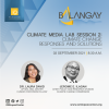 Addressing climate change: Climate Media Labs' second session provide perspectives from policymakers and communities